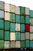 Containers - Felixstowe by PhilsPictures