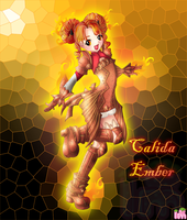 The happy little flame Calida Ember by TrueRageXRT