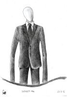 Slender man by Xezansaur