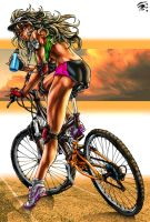 Fitness Bike Colors by HelioSaara