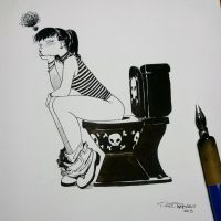 Fever has gone down the toilet by raultrevino