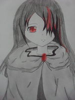 Hooded girl 2 (Kuudere Version) by hayameh03
