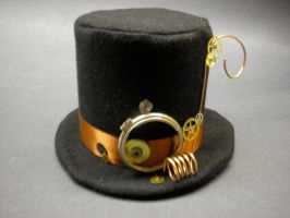 Steampunk Top Hat by TwistedbyShannon