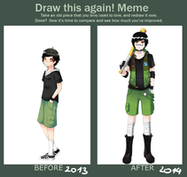 Draw again meme by Nigiri-chan