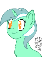 Lyra Turn And Blink by MidnightQuill
