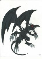 Red Eyes Black Dragon by Azure-Dragon-Seiryu