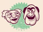 statler and waldorf by chunkysmurf