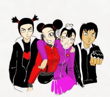 pucca - gang's all here 2 by bulletproofphoenix