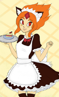 Maid Flame Princess by Natsunohuyana