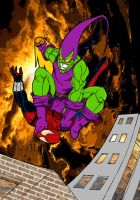 Green Goblin's Victory by lone-wolf-boudin