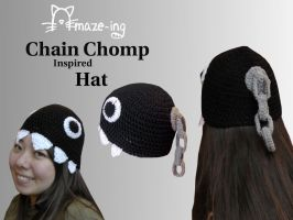 Amaze-ing Chain Chomp Hat 2 by Amaze-ingHats