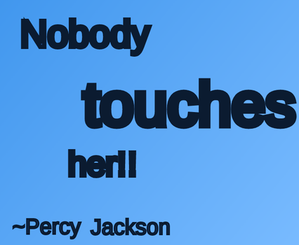 Percy Quote by YoungJusticeLover
