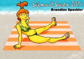 Swimsuit Season 2014 : Brandine Spuckler by Chesty-Larue