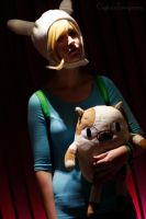 Fionna the human by Cecelin0