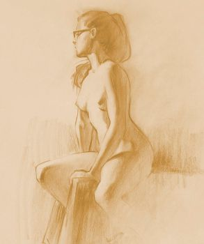 Figure Drawing by Wildweasel339
