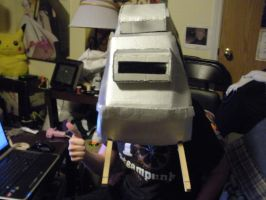 Star Wars AT-AT Costume: Head is work in progress by Seras-Loves-Master