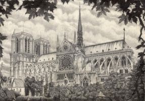 Notre Dame by nopow