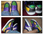 Shoe Design 01- Ninja Turtles by LimeGeen