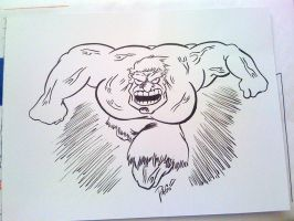 Incredible Hulk Commission by XxPohGoxX