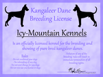 breeding license by blueshinewolfstar1