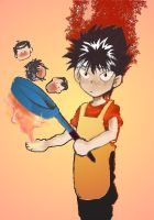 Hiei eats friends by student01