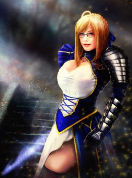Arturia-King of Knights by JohnZotack