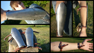 Steel Bracers by Fathis
