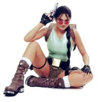 Ellen Rocche|Lara Croft|Tomb Raider|Cosplay by c-edward