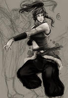 korra wip by Jun-OH