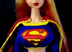 DC Modern Supergirl Custom Doll Sexy Slideshow by jvcustoms