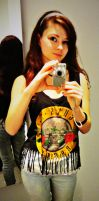 Guns and Roses shirt by karo666