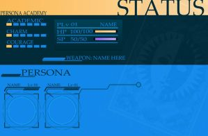 Persona Academy Template by moonchaos