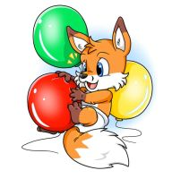 Squeaky Balloon - Nintendrawer by KennyKitsune