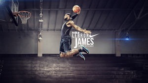 Lebron James Wallpaper by MikasDA