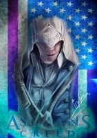 Assassins Creed 3 Connor Fanart by Wolfofpulse