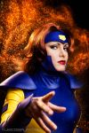 Jean Grey - Fire and Flames by Yukilefay