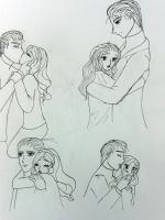 sketches A + G by EmpressofHeaven