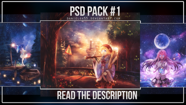 PSD PACK #1 by ShanielGFX