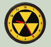 Fallout Shelter Clock for Rainmeter by ida-in-thunderland