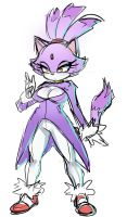 Blaze the Cat by ManiacPaint