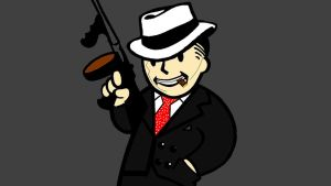 Vault Boy Al Capone by Greenday2004