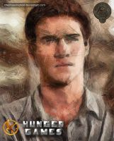 The Hunger Games - Gale Hawthorne by thephoenixprod