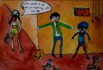 Left 4 Dead Halloween Fail by Umisaka