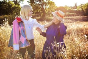 Howl's Moving Castle Cosplay - Love touch by hakucosplay