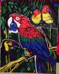 Exotic Birds Poster by Bird-Lover25