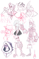 Sketchdump I by GhostHause