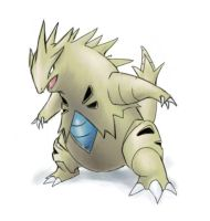 Tyranitar by dark-arrancar