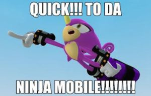 NINJA MOBILE!!!!!!!!!!!!!!!!!!!!!!!!!!!!!!!!!!!!!! by SonicSilver2003