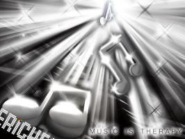 Music is Therapy 2 by Maverickeast