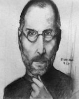 Steve Jobs by Nobody-Parks-Here